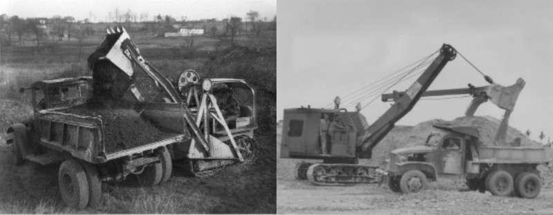 Evolucion de la maquinaria pesada